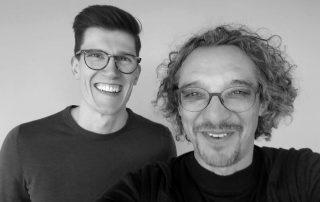 Björn Goß und David Traens