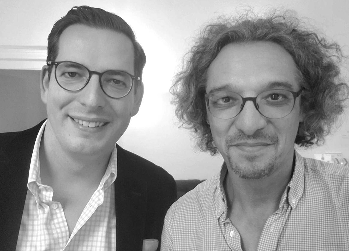 Dominik Benner und David Traens