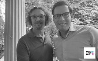 Dominik Benner mit David Traens im Podcast