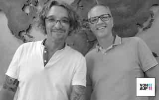 Matthias Stroezel mit David Traens im Podcast
